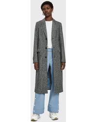 Hope - Clan Long Wool Coat - Lyst