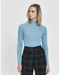 Nomia - Wide Rib Turtleneck - Lyst