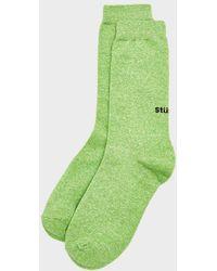 Stussy Everyday Sock - Green