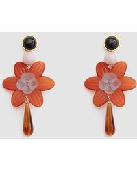 Lizzie Fortunato - Sal Flower Earrings - Lyst