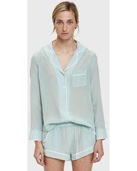 Maison Du Soir - Bardot Sleep Shirt - Lyst