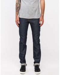 Naked & Famous - Skinny Guy Dirty Fade Selvedge - Lyst
