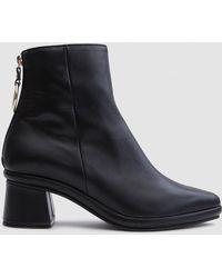 Reike Nen - Ring Slim Boots In Black - Lyst
