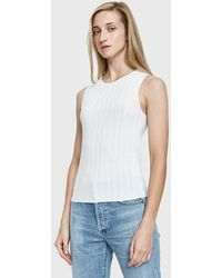 Which We Want - Cher Wide Ribbed Tank - Lyst