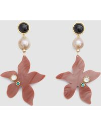 Lizzie Fortunato - Portugal Poppy Earrings - Lyst