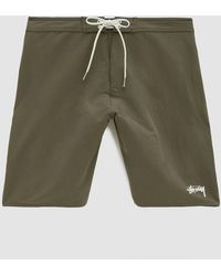 Stussy - Stock Trunk In Olive - Lyst