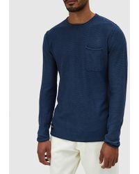 Native Youth | Lewes Knit In Navy | Lyst
