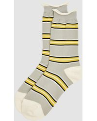 Hansel From Basel - '70s Stripe Crew Sock - Lyst