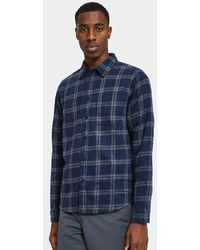Native Youth - Daneside Shirt In Navy - Lyst