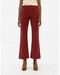 Paloma Wool Women's Milton Cord Pant - Red