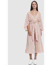 Farrow - Blanca Striped Jumpsuit - Lyst