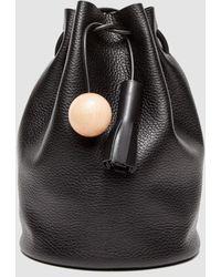 Building Block - Leather Bucket Bag  - Lyst