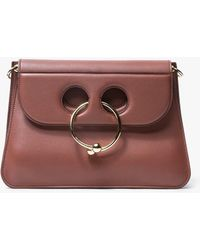 J.W.Anderson - Pierce Medium Leather Shoulder Bag - Lyst