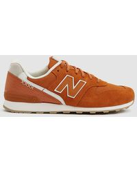 New Balance - 696 Suede Trainer - Lyst