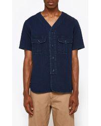 Neighborhood - N.c. Ss Shirt In Indigo - Lyst