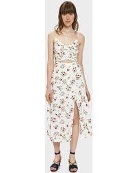 Farrow - Emily Floral Cutout Dress - Lyst