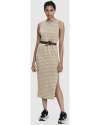 Which We Want - Jaclyn Ribbed Sleeveless Dress - Lyst