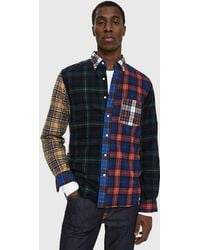 Beams Plus - Tartan Check Shirt - Lyst