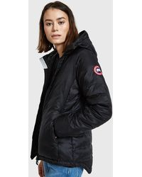 ... Canada Goose - Camp Hoody In Black - Lyst official photos f7336 b0468  ... 799221eb9