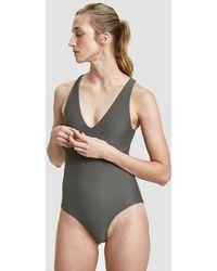 Shaina Mote Ligne Swimsuit - Gray