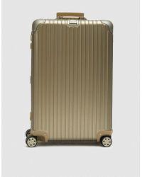 Rimowa - 82l Topas Multiwheel® E-tag Suitcase - Lyst