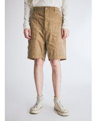 Engineered Garments Fatigue Short - Natural