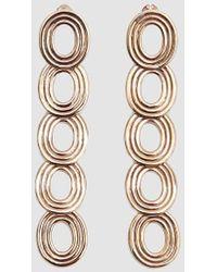 Pamela Love - Cassini Brass Drop Earrings - Lyst