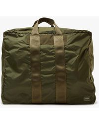 Porter Small Flex 2way Duffle Bag - Green