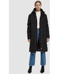 Just Female - Steal Hooded Parka - Lyst