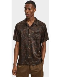 Stussy - Paisley Shirt In Olive - Lyst
