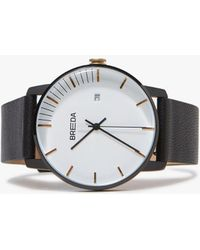 Breda - Phase Watch - Black/black - Lyst