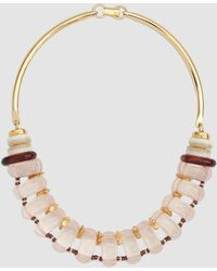 Lizzie Fortunato - Modern Arc Necklace - Lyst