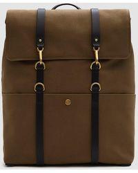 Mismo - M/s Backpack In Khaki/black - Lyst