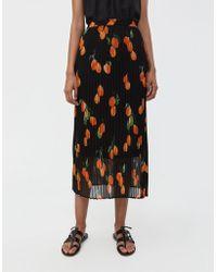 Just Female - Hilda Printed Skirt - Lyst