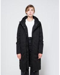 Just Female - Steal Coat In Black - Lyst