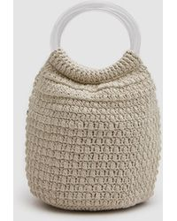 Rachel Comey - Praia Hand Crochet Bucket In Ivory - Lyst