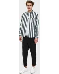 A.P.C. - Alexis Shirt In Off White - Lyst