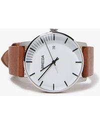 Breda - Phase Watch - Silver/brown - Lyst