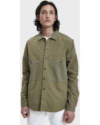YMC - Doc Savage Button Up Shirt - Lyst