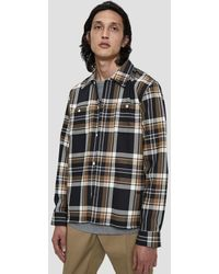 WOOD WOOD - Franco Button Up Shirt - Lyst