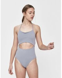 The Ones Who - Luna Cutout Swimsuit - Lyst