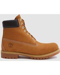 Timberland - 6 In. Premium Boot In Wheat Nubuck - Lyst