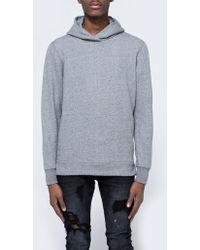 John Elliott - Hooded Villain Sweatshirt In Dark Grey - Lyst
