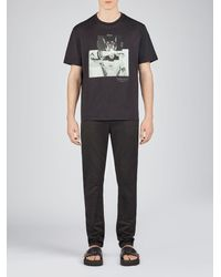 Neil Barrett - Soft Stretch Cotton Super Skinny Jeans - Lyst