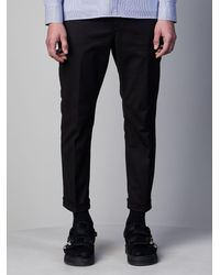 Neil Barrett - Soft Stretch Cotton Loose Jeans - Lyst