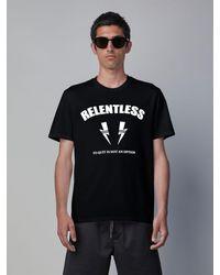 """Neil Barrett - Relentless """"sports Bolt"""" T-shirt - Lyst"""