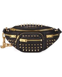 Alexander Wang Attica Soft Spike Fanny Pack - Black