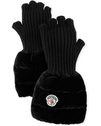 983f82633db1 Lyst - Women s Moncler Gloves