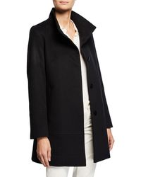 Fleurette - Cashmere-wool One-button Car Coat - Lyst