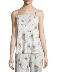 Hanro - Camille Lace-inset Camisole - Lyst